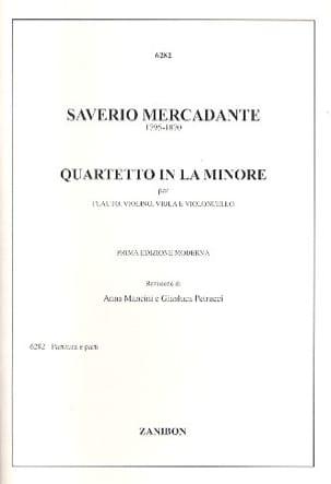 Quartetto in la minore -flauto violino viola violoncello laflutedepan