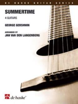 Summertime - 4 Guitares GERSHWIN Partition Guitare - laflutedepan