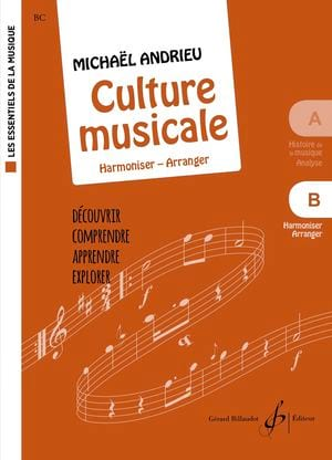 Michael Andrieu - Culture Musicale - Cahier B - Partition - di-arezzo.fr