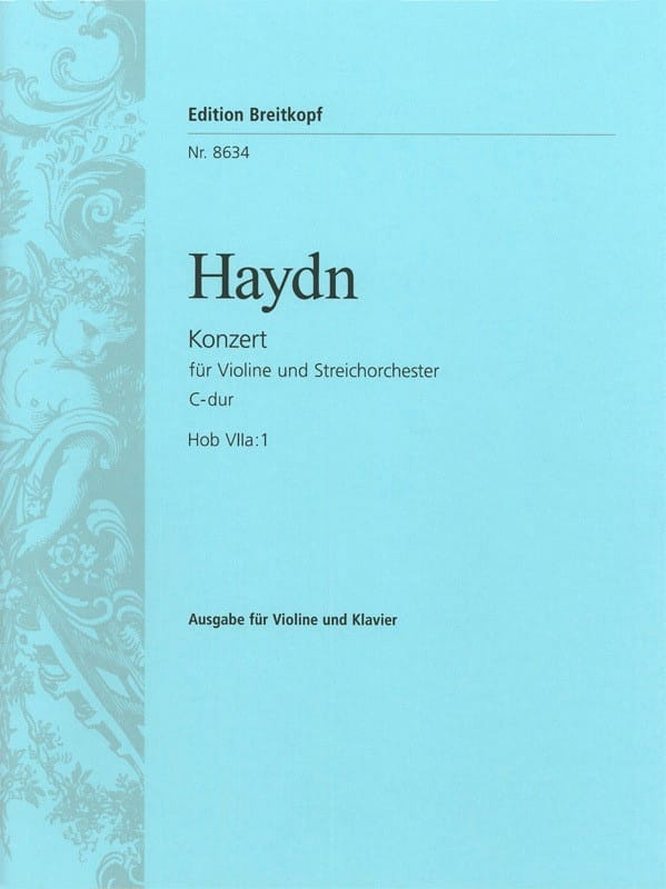 Violinkonzert C-Dur Hob. 7a : 1 - HAYDN - Partition - laflutedepan.com