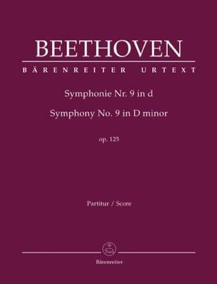 Symphonie N° 9 D-Moll Op. 125 - conducteur BEETHOVEN laflutedepan