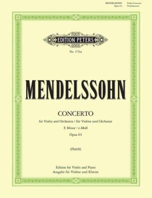 Concerto pour Violon en mi mineur op. 64 - laflutedepan.com