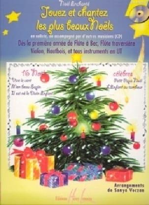 Jouez et Chantez les plus beaux Noëls Volume 1 laflutedepan