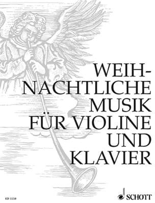 Weihnachtliche Musik Curt Böhme Partition Violon - laflutedepan