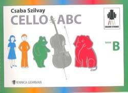 Cello ABC Book B Geza Szilvay Partition Violoncelle - laflutedepan