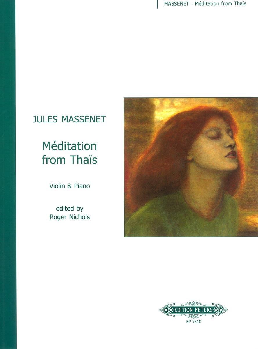Méditation from Thaïs - Violin - MASSENET - laflutedepan.com