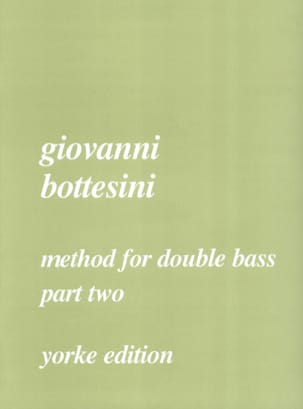 Method for double bass, part 2 BOTTESINI Partition laflutedepan