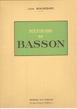 Méthode de basson Jean Beauregard Partition Basson - laflutedepan