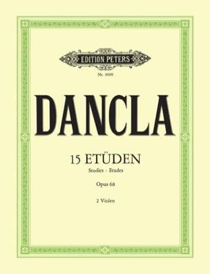 15 Etudes op. 68 - 2 Altos DANCLA Partition Alto - laflutedepan