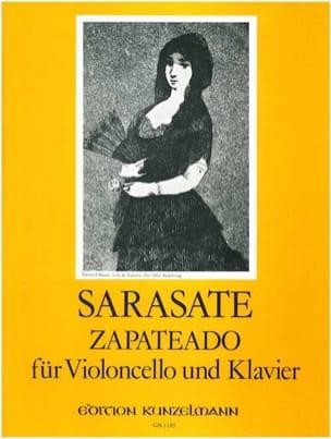 Zapateado op. 23 - Cello SARASATE Partition Violoncelle - laflutedepan