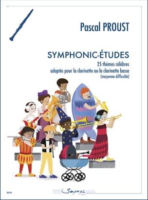 Pascal Proust - Symphonic-Etudes - Clarinet - Partition - di-arezzo.co.uk