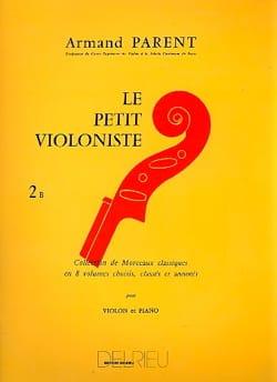 Le Petit Violoniste Volume 2B Armand Parent Partition laflutedepan