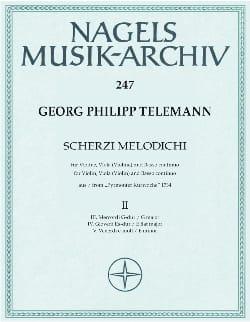 Scherzi melodichi, Bd. 2 - Violine, Viola Violine u. Bc laflutedepan
