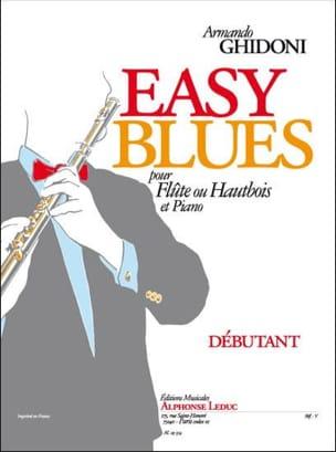 Easy Blues Armando Ghidoni Partition Flûte traversière - laflutedepan
