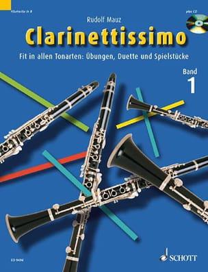 Clarinettissimo, Volume 1 Rudolf Mauz Partition laflutedepan