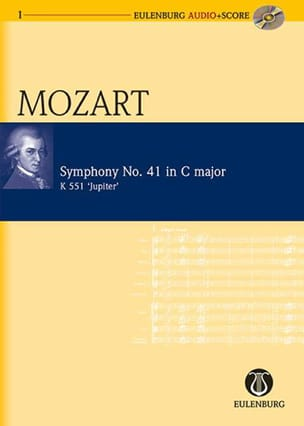 Symphonie N° 41, Kv 551 Jupiter MOZART Partition laflutedepan