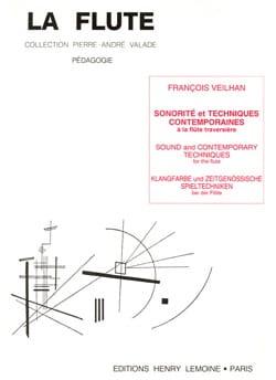 Sonorité et techniques contemporaines François Veilhan laflutedepan