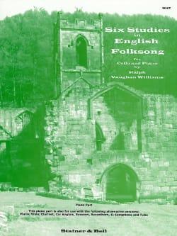 6 Studies in English Folksong - Cello piano laflutedepan