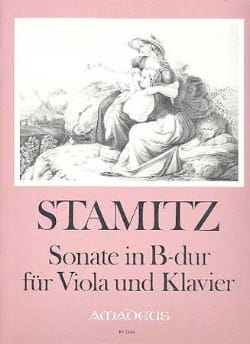 Sonate in B-Dur - Viola und Klavier - STAMITZ - laflutedepan.com
