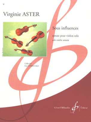 Virginie Aster - Sous influences - Partition - di-arezzo.fr