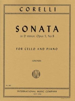 Sonate en ré mineur, op. 5 n° 8 - CORELLI - laflutedepan.com