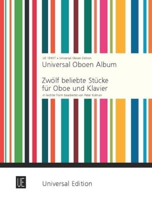 Universal Oboen Album Peter Kolman Partition Hautbois - laflutedepan
