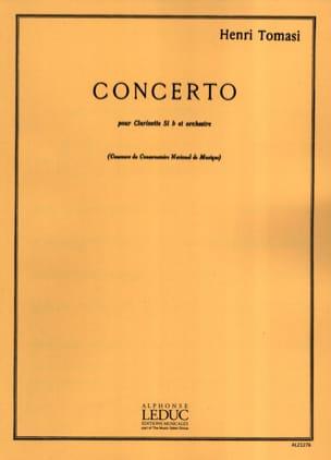 Concerto pour Clarinette TOMASI Partition Clarinette - laflutedepan