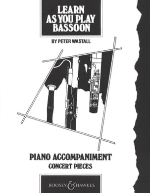Learn as you play bassoon Piano acc. Peter Wastall laflutedepan