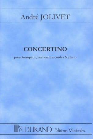 Concertino - Conducteur André Jolivet Partition laflutedepan