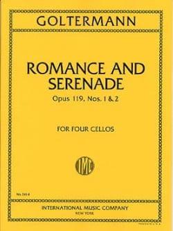 Romance et Sérénade op. 119 n° 1 et 2 Georg Goltermann laflutedepan