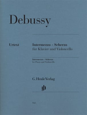 Intermezzo - Scherzo DEBUSSY Partition Violoncelle - laflutedepan