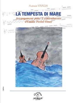 La Tempesta di Mare - 5 Contrebasses - VIVALDI - laflutedepan.com