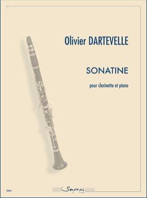 Sonatine Olivier Dartevelle Partition Clarinette - laflutedepan