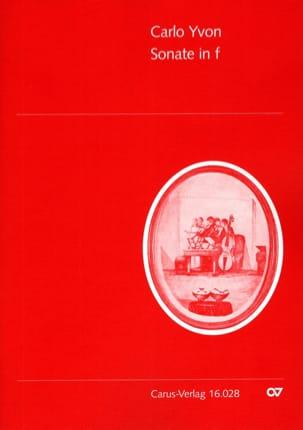 Sonate in f-moll -Englishhorn Klavier Carlo Yvon laflutedepan