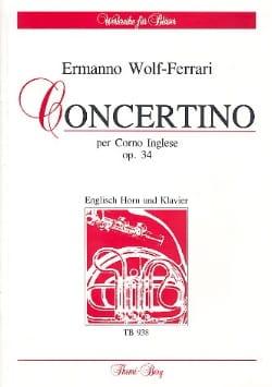 Concertino op. 34 -English Horn Klavier laflutedepan