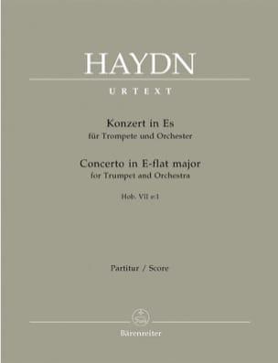 Trompetenkonzert Es-Dur Hob 7e:1 - Partitur HAYDN laflutedepan