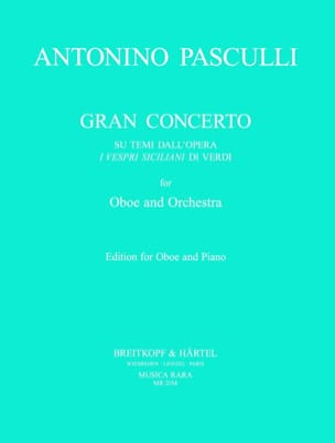 Gran concerto Antonino Pasculli Partition Hautbois - laflutedepan