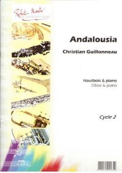 Andalousia Christian Guillonneau Partition Hautbois - laflutedepan