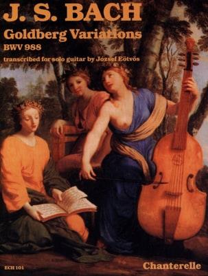 Variations Goldberg, BWV 988 - Guitare BACH Partition laflutedepan