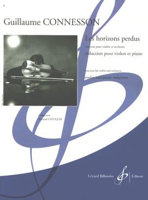 Les Horizons Perdus CONNESSON Partition Violon - laflutedepan