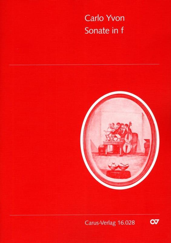 Sonate in f-moll -Englishhorn Klavier - Carlo Yvon - laflutedepan.com