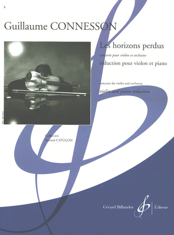 Les Horizons Perdus - CONNESSON - Partition - laflutedepan.com