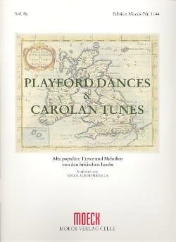 Playford Dances And Carolan Tunes Partition laflutedepan