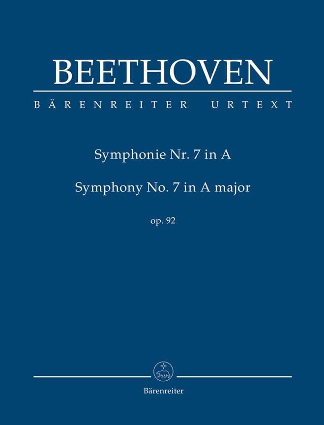 Symphonie N° 7 - Conducteur - BEETHOVEN - Partition - laflutedepan.com