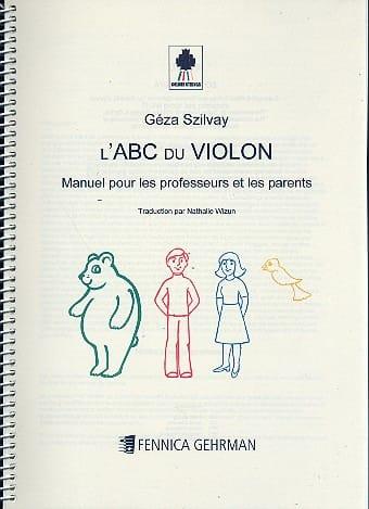 Colourstrings l' ABC du violon Manuel professeur et parents - laflutedepan.com