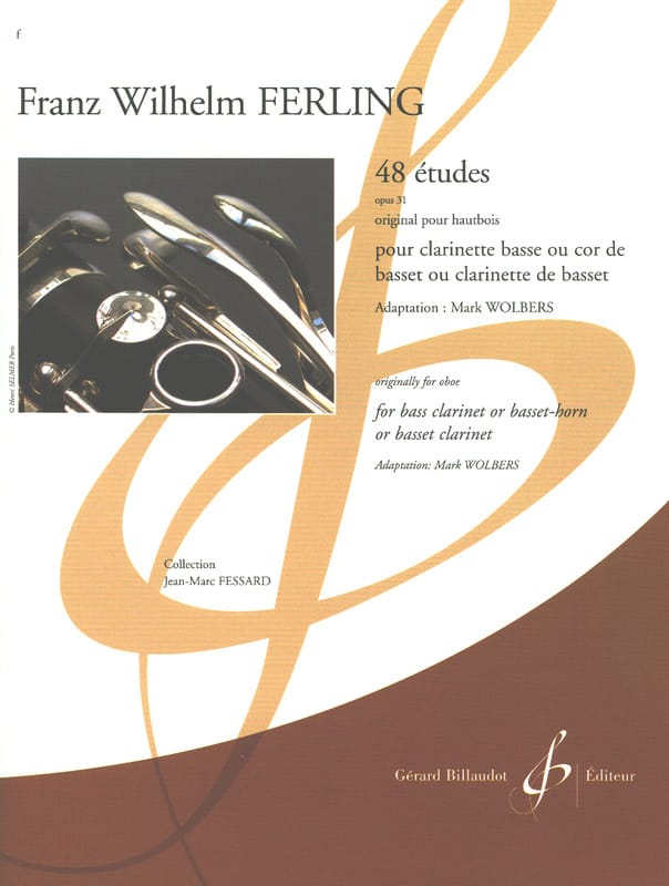 48 Etudes, op. 31 - Clarinette Basse - laflutedepan.com