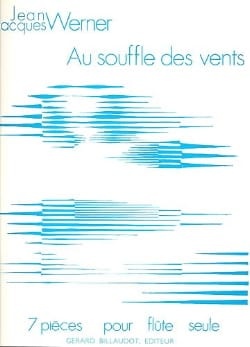 Au souffle des vents Jean-Jacques Werner Partition laflutedepan