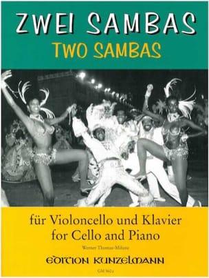 2 Sambas Werner Thomas-Mifune Partition Violoncelle - laflutedepan