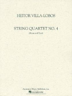 Quatuor à cordes n° 4 -Score + Parts VILLA-LOBOS laflutedepan