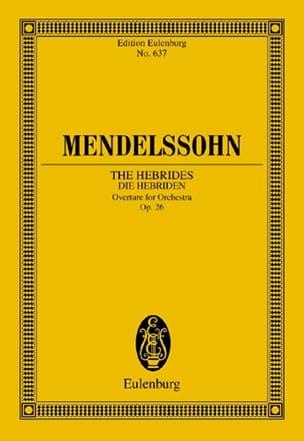 Die Hebriden, op. 26 - Ouvertüre - Partitur MENDELSSOHN laflutedepan